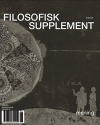 Filosofisk Supplement 1/2014