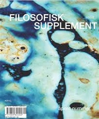 Filosofisk Supplement 1/2016